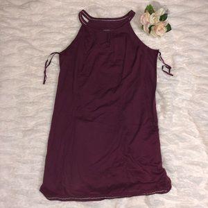 Merona size 16 dress maroon
